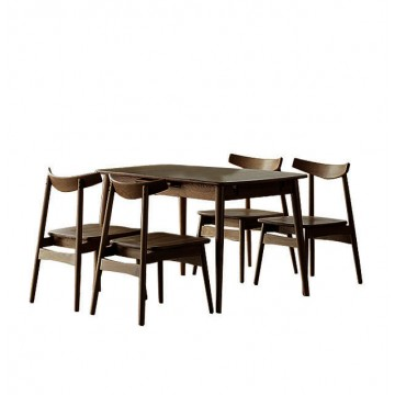 Dining Set - Jordi Table + 4 Zadie Chair