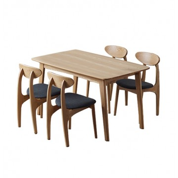 Dining Set - Piper Table + 4 Rodney Chair