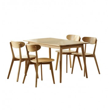 Dining Set - Piper Round Table (4 chairs)