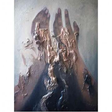 Oil Painting: Grieve