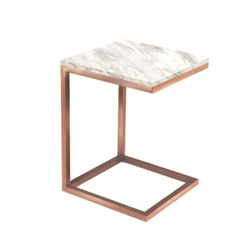 Gredd Side Table (Marble)
