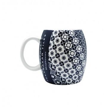 Mug - Peranakan (Navy Blue)