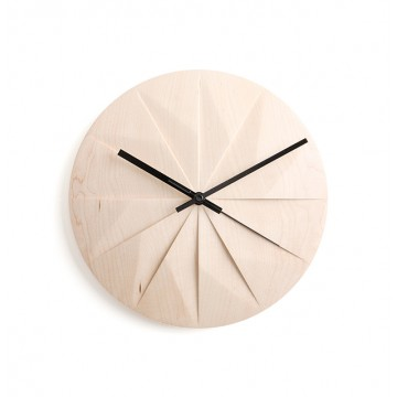 Shady: Wall Clock (Maple)
