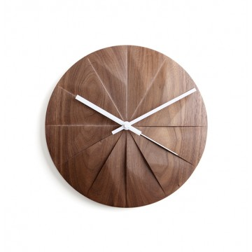 Shady: Wall Clock (Walnut)