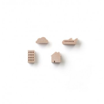 Small Ville: Magnet Set