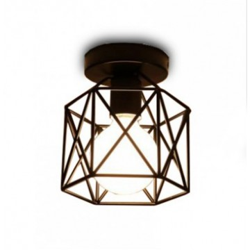 Caged Ceiling Lamp