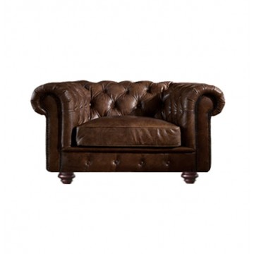 Duncan Chesterfield Armchair