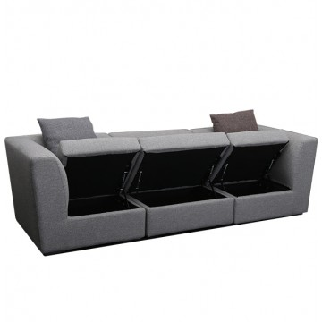 Laura Storage Sofa