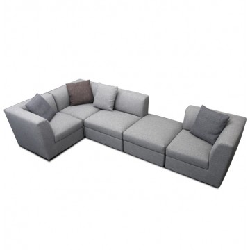 Laura L-Shaped Storage Sofa