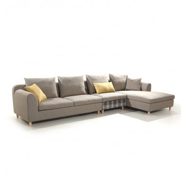 Meghan L-Shaped Sofa
